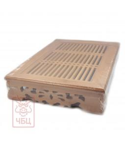 Чабань с поддоном, Бамбук, 37х26х7 см