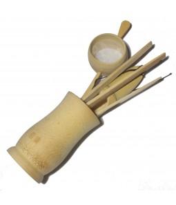 Набор для чайной церемонии, бамбук