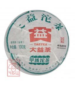 "Шен пуэр ""Дзя Дзы"", ДаИ, 2012 г, точа 100 гр"